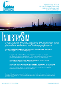 IndustrySim Teaser for Potential Partners